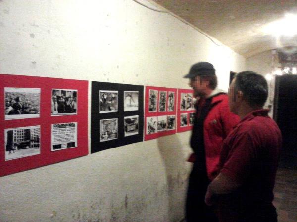 CeNTenario-Ausstellung beim Umsonstladen